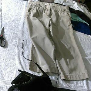 J. Crew ladies khaki chino pants